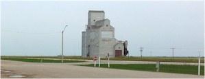 Grain elevator, Sedley SK